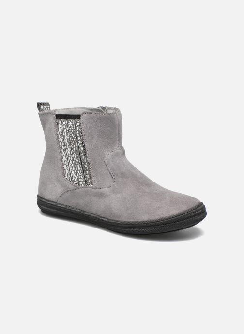 Ankelstøvler Minibel Ludique Grå detaljeret billede af skoene