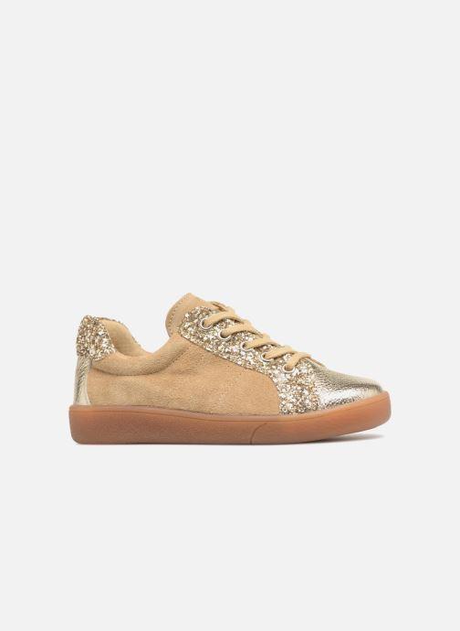 Sneakers Minibel Pixy Goud en brons achterkant
