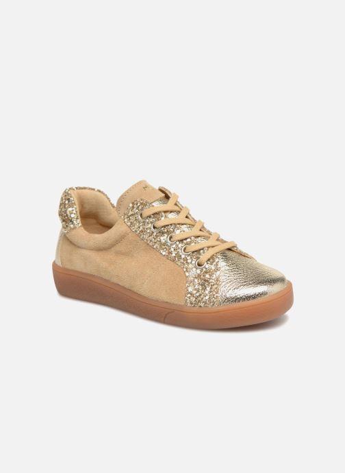 Sneakers Minibel Pixy Goud en brons detail