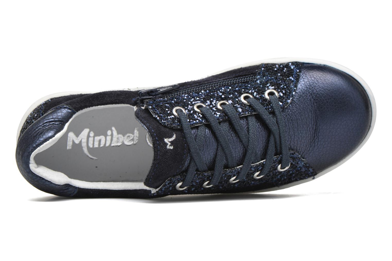 Sneakers Minibel Pixy Blauw links