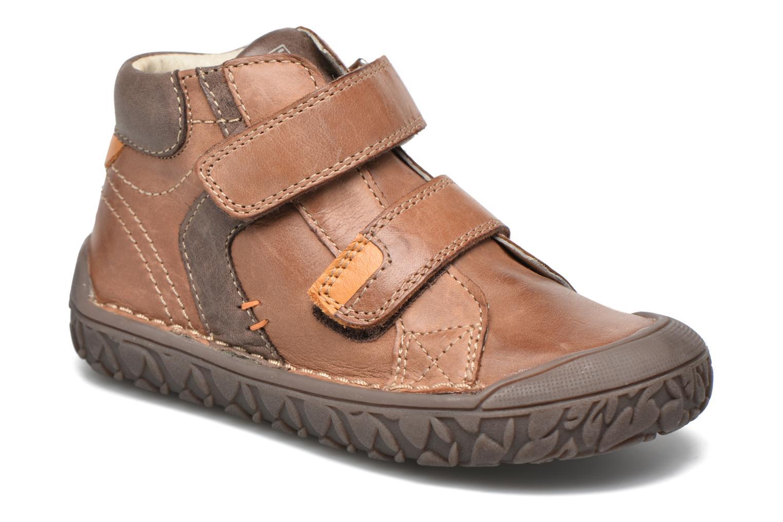 Chaussures à scratch Noël Nino2 Marron vue détail/paire