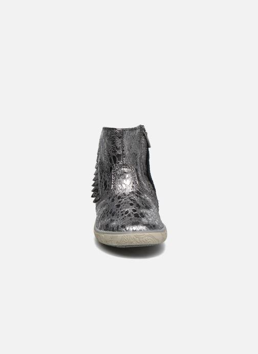 Bottines et boots Noël Mini Amel Gris vue portées chaussures