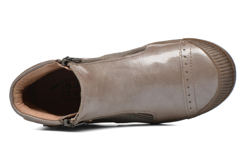 Bottines et boots Noël Pilar Beige vue gauche