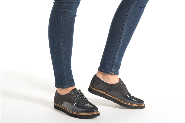 Chaussures à lacets Ippon Vintage James smart Gris vue bas / vue portée sac