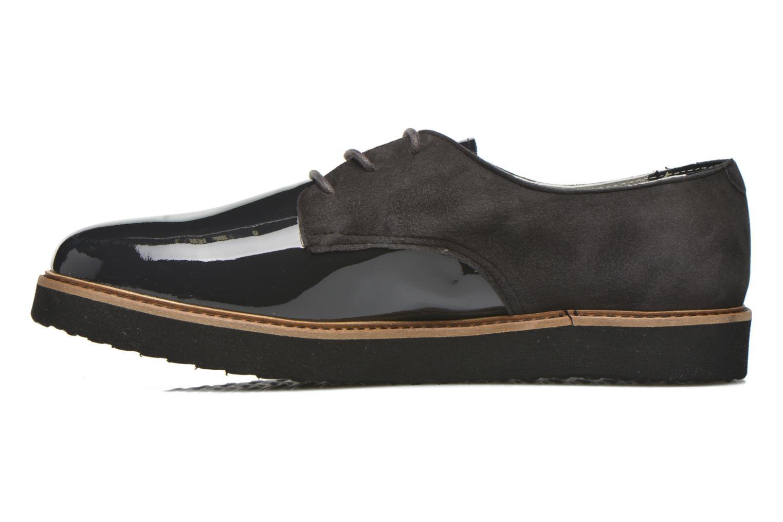 Chaussures à lacets Ippon Vintage James smart Gris vue face