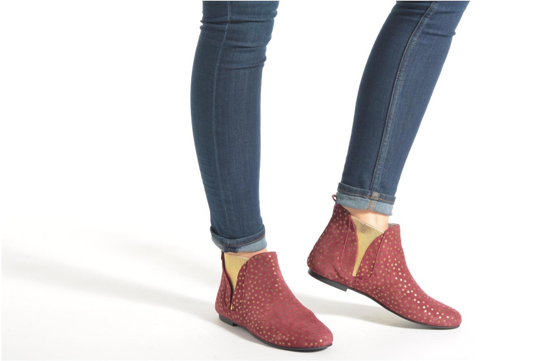 Bottines et boots Ippon Vintage Patch gold Bleu vue bas / vue portée sac