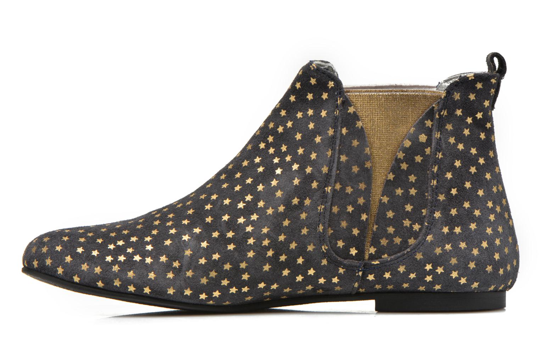 Bottines et boots Ippon Vintage Patch gold Bleu vue face
