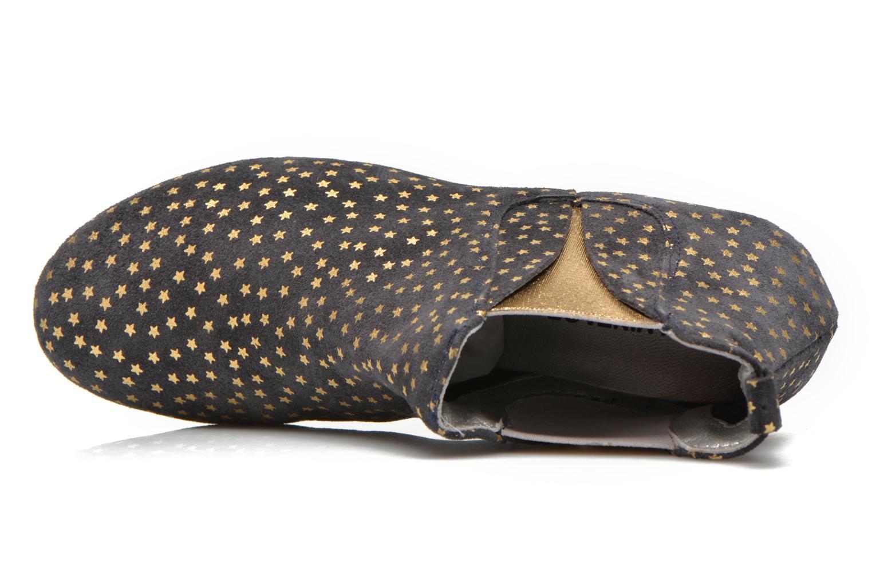 Bottines et boots Ippon Vintage Patch gold Bleu vue gauche