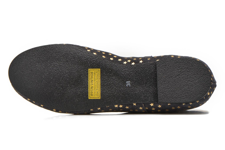 Bottines et boots Ippon Vintage Patch gold Bleu vue haut