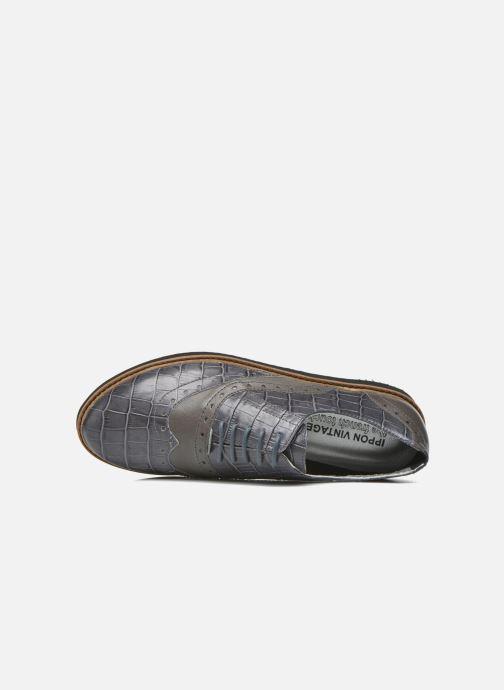 Zapatos con cordones Ippon Vintage Andy croco Gris vista lateral izquierda