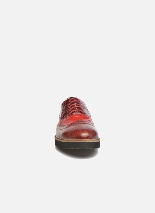 Chaussures à lacets Ippon Vintage Andy croco Rouge vue portées chaussures