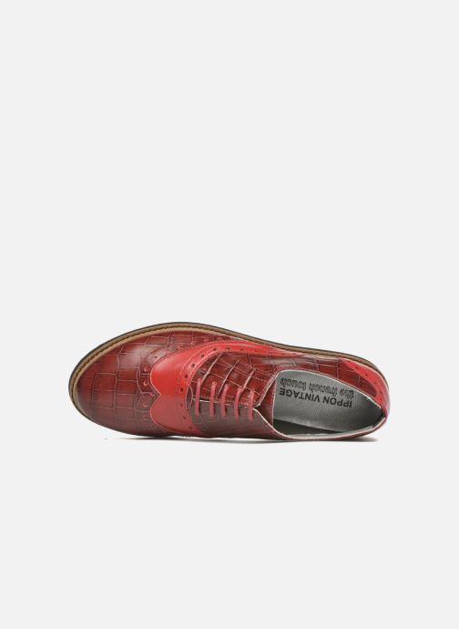 Zapatos con cordones Ippon Vintage Andy croco Rojo vista lateral izquierda