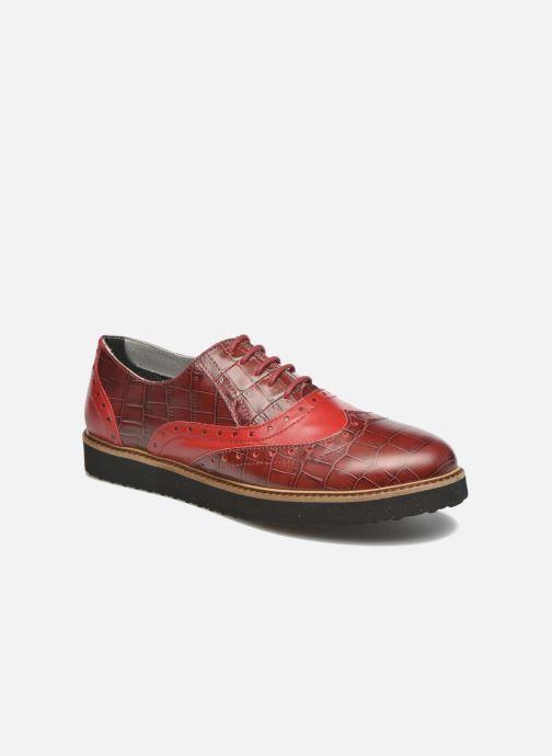 Snøresko Ippon Vintage Andy croco Rød detaljeret billede af skoene