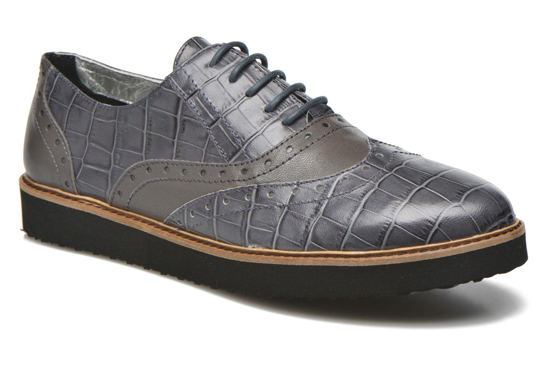 Zapatos con cordones Ippon Vintage Andy croco Gris vista de detalle / par