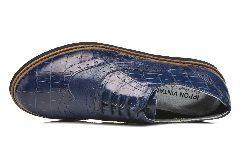 Chaussures à lacets Ippon Vintage Andy croco Bleu vue gauche