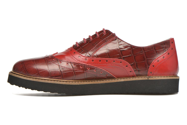 Chaussures à lacets Ippon Vintage Andy croco Rouge vue face