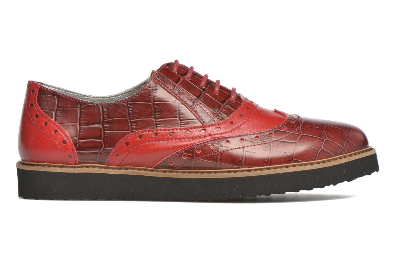 Chaussures à lacets Ippon Vintage Andy croco Rouge vue derrière
