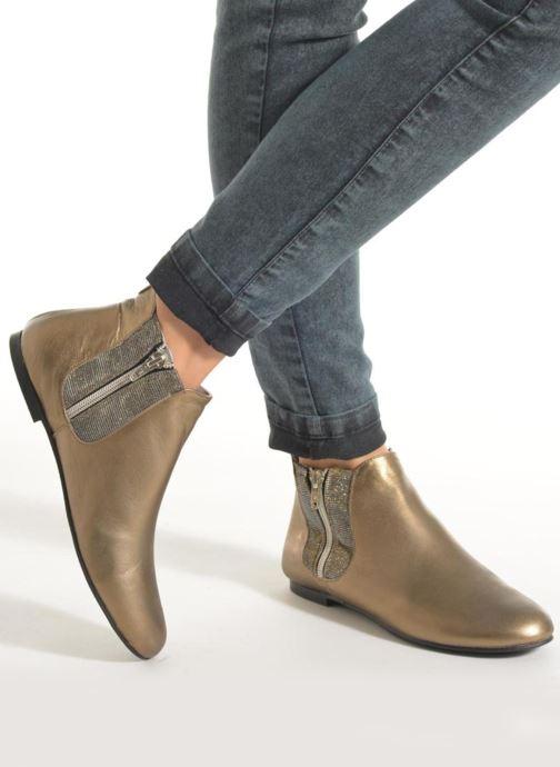 Bottines et boots Ippon Vintage Cover-lux Or et bronze vue bas / vue portée sac