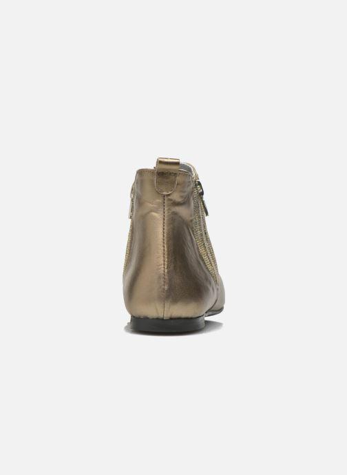 Bottines et boots Ippon Vintage Cover-lux Or et bronze vue droite