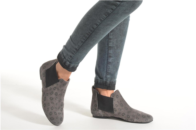 Bottines et boots Ippon Vintage Peal Kiss Gris vue bas / vue portée sac