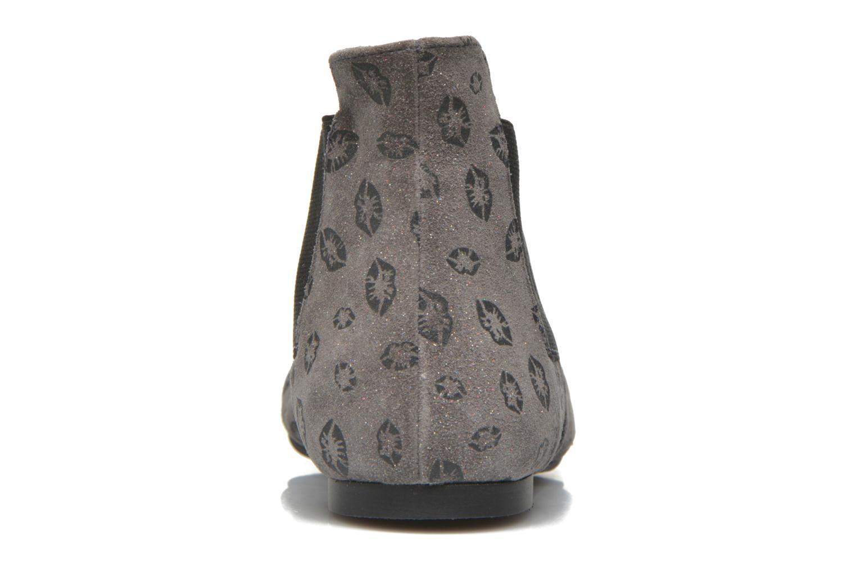 Bottines et boots Ippon Vintage Peal Kiss Gris vue droite