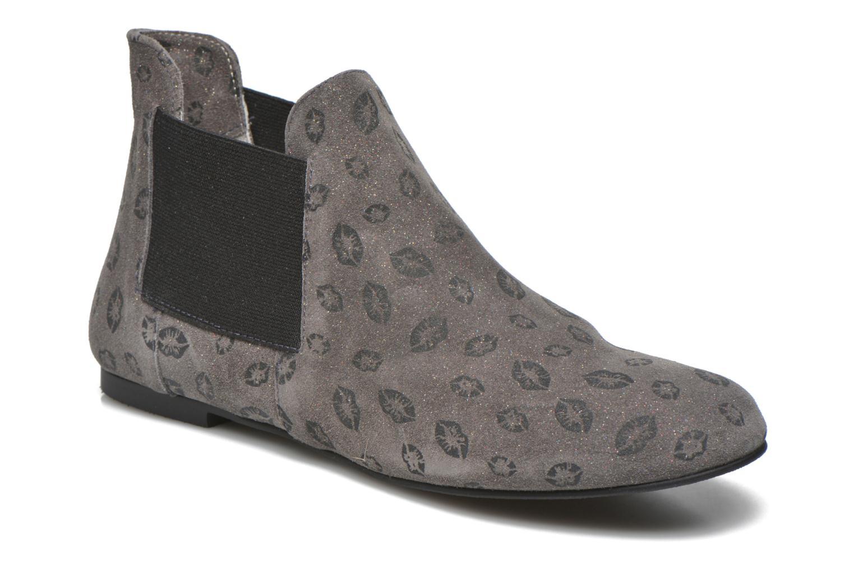 Bottines et boots Ippon Vintage Peal Kiss Gris vue détail/paire