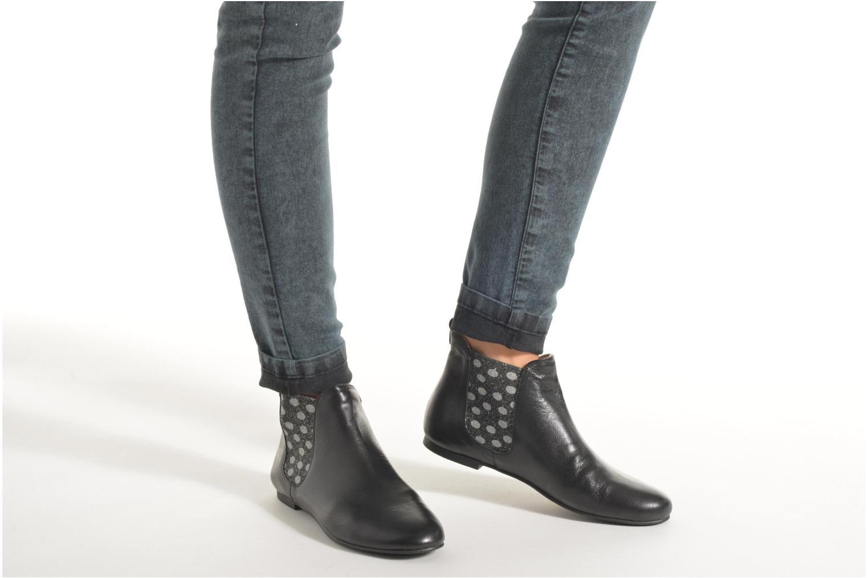 Bottines et boots Ippon Vintage Sun Colors Noir vue bas / vue portée sac