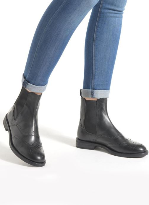 Ankle boots Vagabond Shoemakers AMINA 4203-001 Black view from underneath / model view