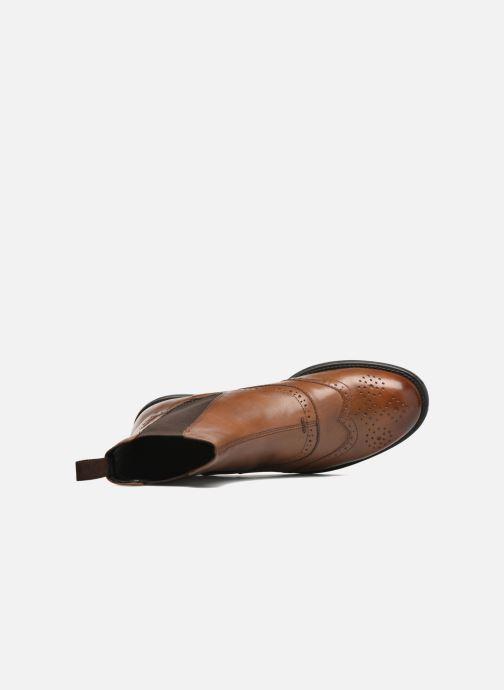 Boots en enkellaarsjes Vagabond Shoemakers AMINA 4203-001 Bruin links