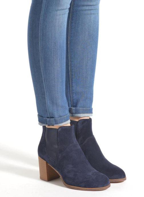 Bottines et boots Vagabond Shoemakers ANNA 4221-040 Bleu vue bas / vue portée sac