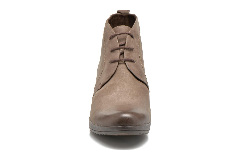 Lace-up shoes Marco Tozzi Aciala Grey model view