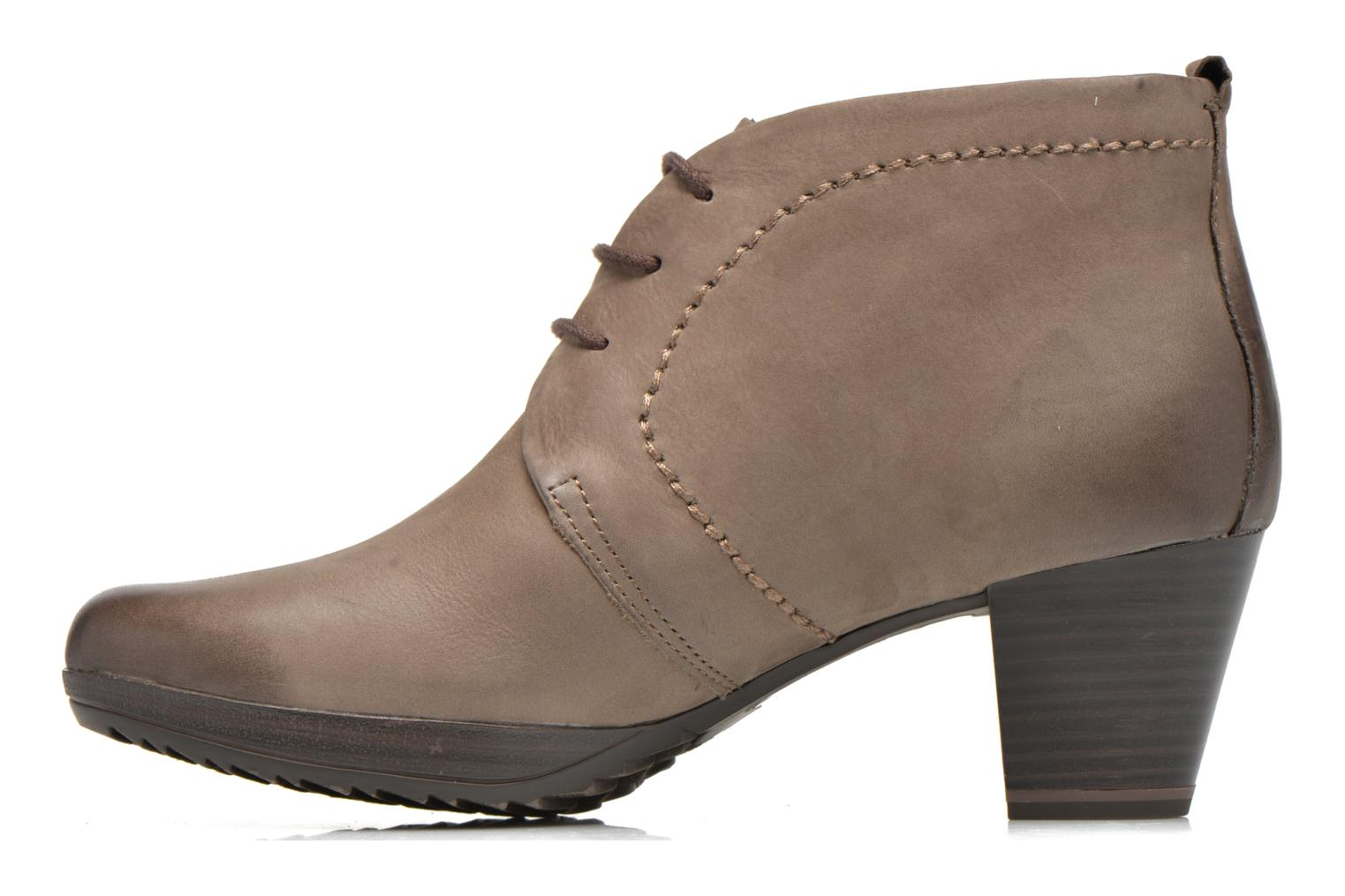 Lace-up shoes Marco Tozzi Aciala Grey front view