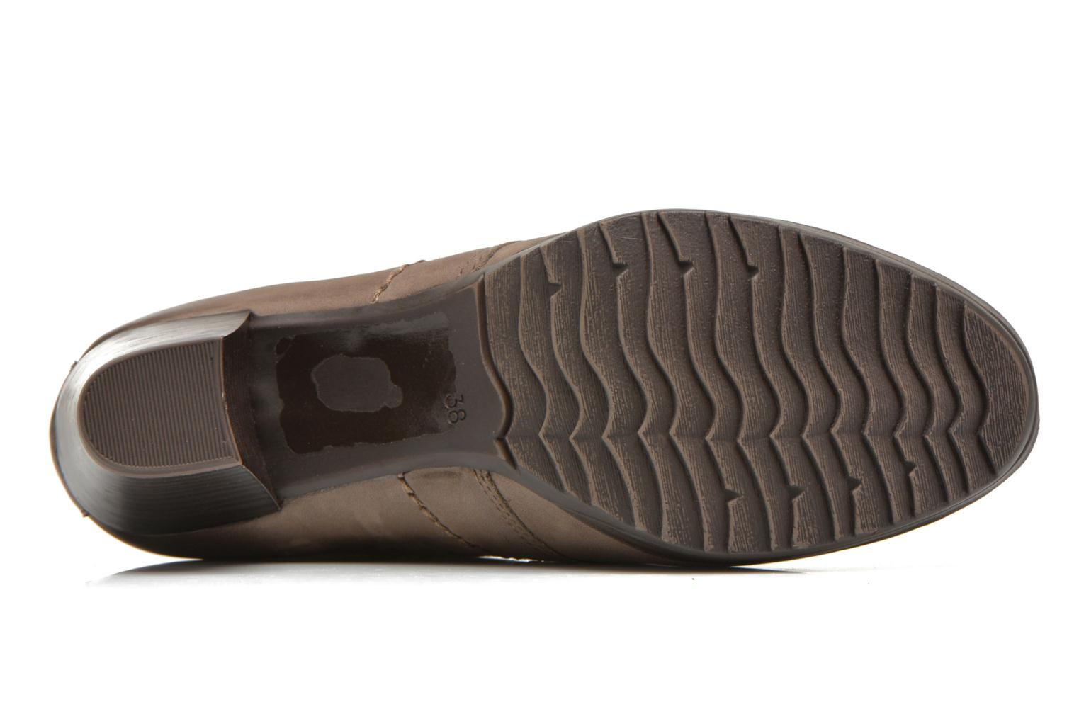 Lace-up shoes Marco Tozzi Aciala Grey view from above