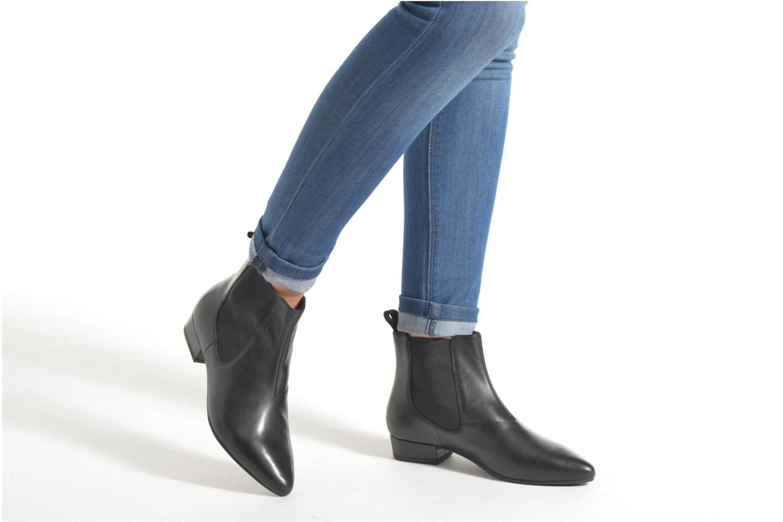 Bottines et boots Vagabond Shoemakers SARAH 4206-101 Noir vue bas / vue portée sac