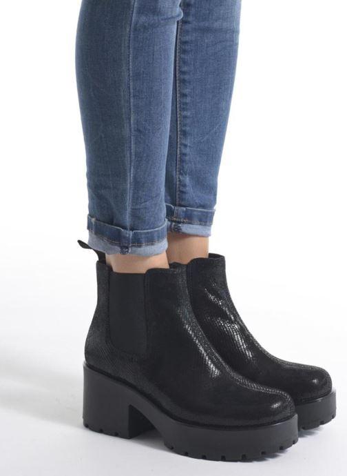 Et Shoemakers Vagabond 208 Dioon noir Chez Boots Bottines 4247 1wRZBnp