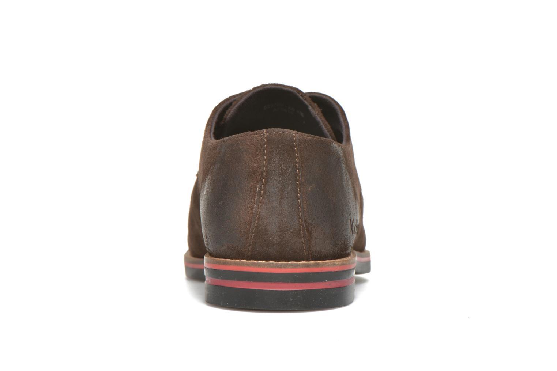 Chaussures à lacets Kickers Eldan Marron vue droite