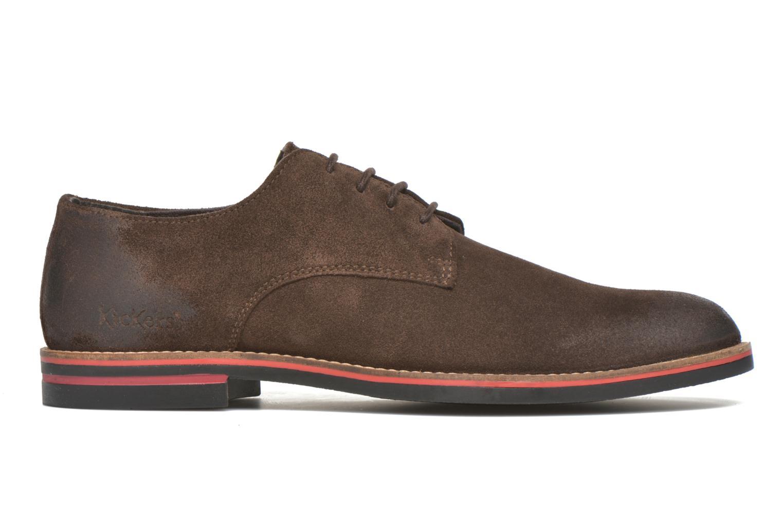 Chaussures à lacets Kickers Eldan Marron vue derrière