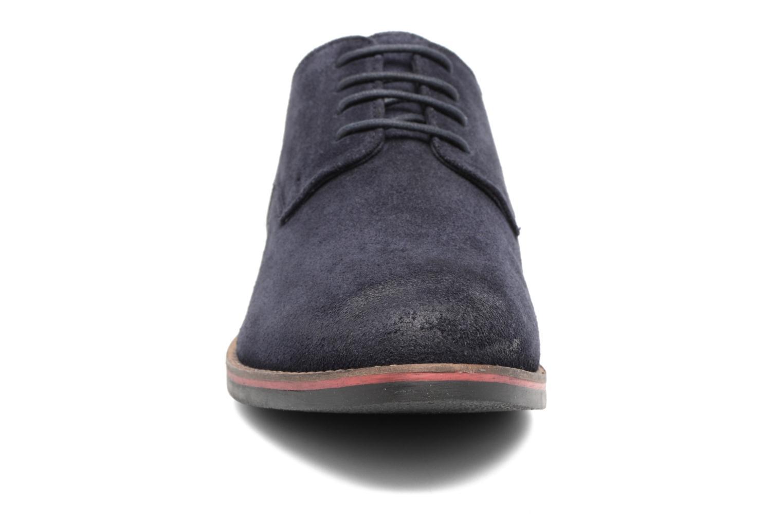 Chaussures à lacets Kickers Eldan Bleu vue portées chaussures