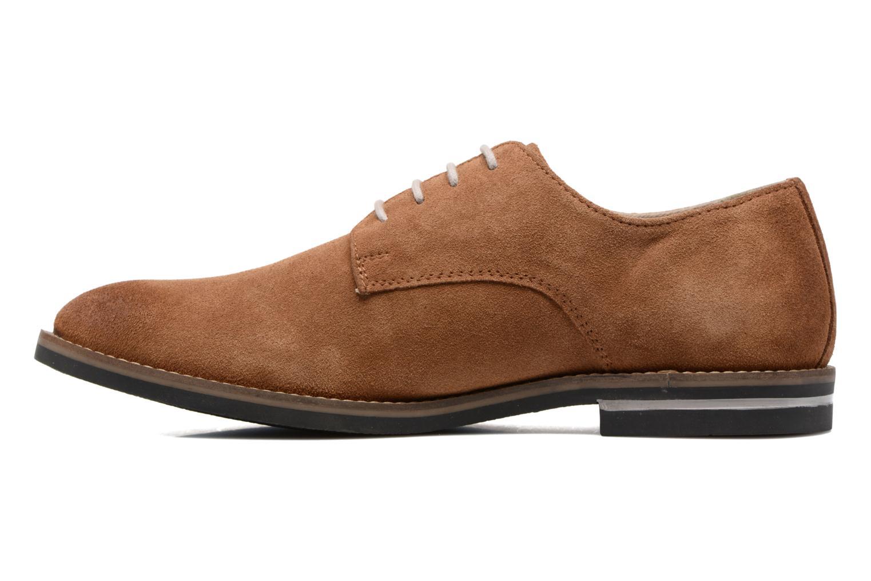 Chaussures à lacets Kickers Eldan Marron vue face