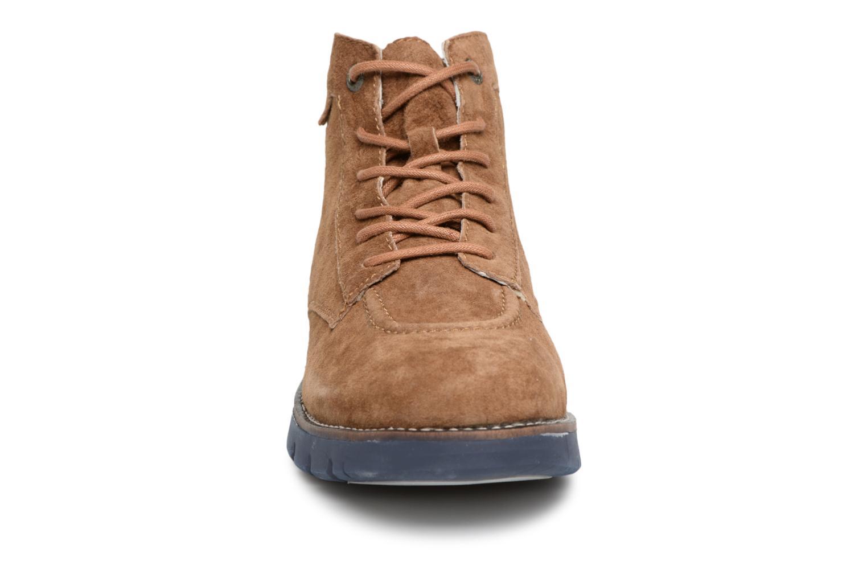Bottines et boots Kickers Kicklegendsport Marron vue portées chaussures