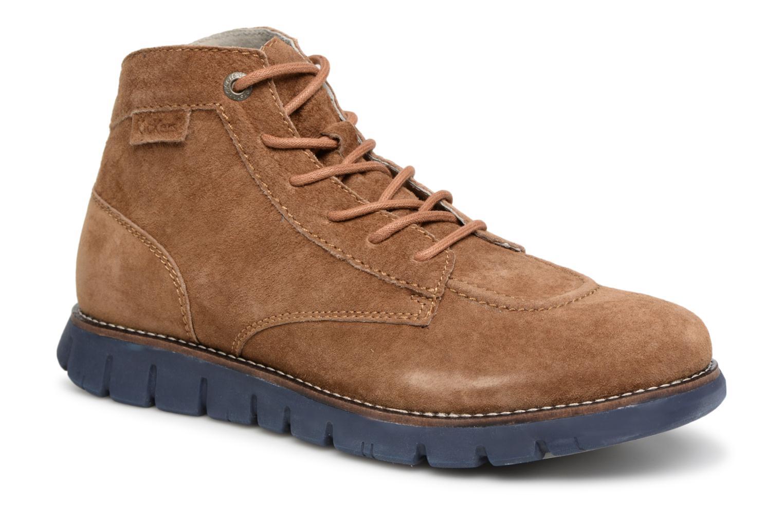 Bottines et boots Kickers Kicklegendsport Marron vue détail/paire