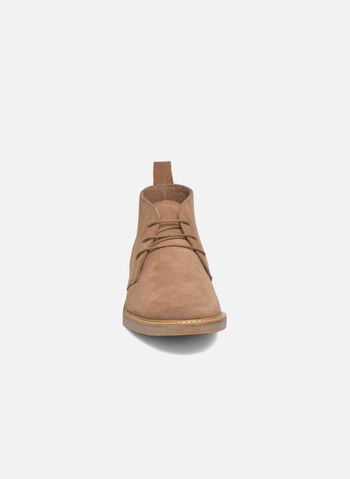 Bottines et boots Kickers Tyl Beige vue portées chaussures