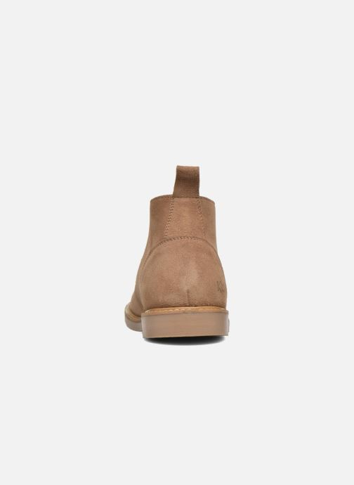 Bottines et boots Kickers Tyl Beige vue droite