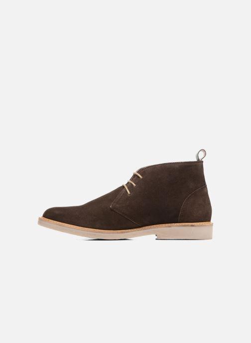 Boots en enkellaarsjes Kickers Tyl Bruin voorkant