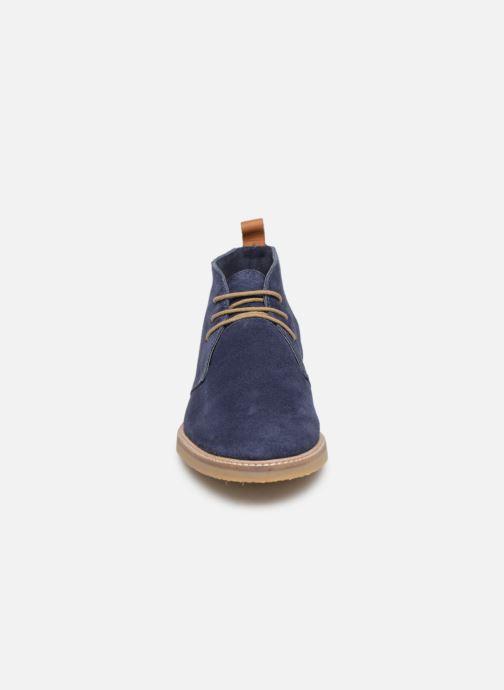 Bottines et boots Kickers Tyl Bleu vue portées chaussures