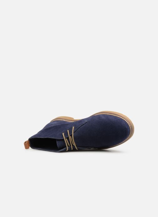 Bottines et boots Kickers Tyl Bleu vue gauche