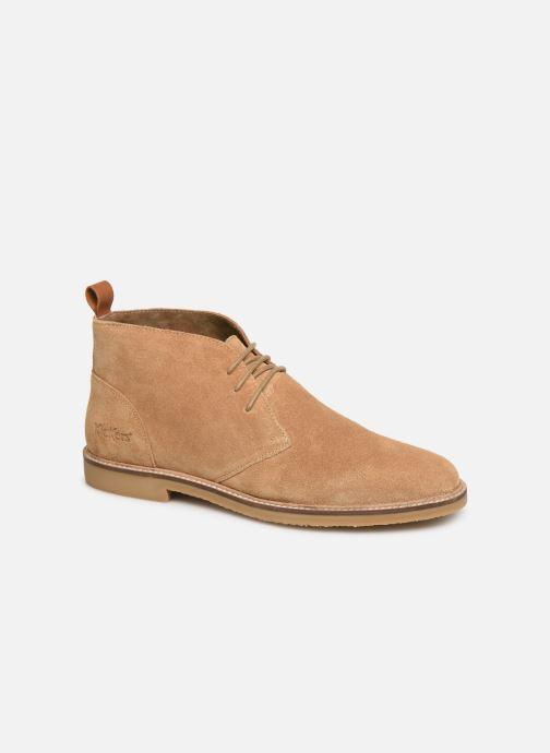 Bottines et boots Kickers Tyl Beige vue détail/paire