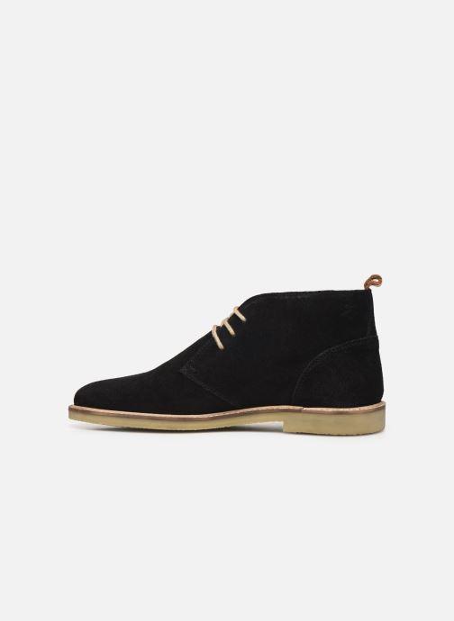 Bottines et boots Kickers Tyl Noir vue face