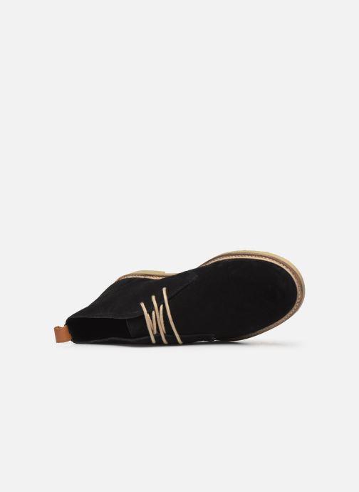 Bottines et boots Kickers Tyl Noir vue gauche