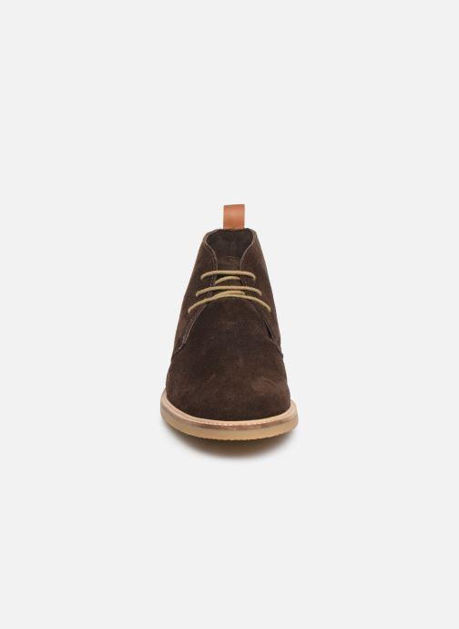 Ankelstøvler Kickers Tyl Brun se skoene på